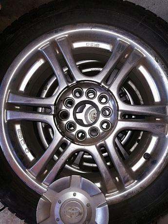 Продам резину SAVA на титановых дисках универсал орегинал Toyota ЗИМА
