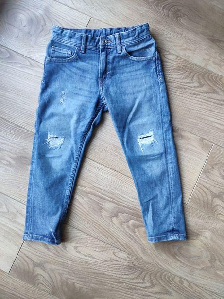 Spodnie dżinsowe 110 HM