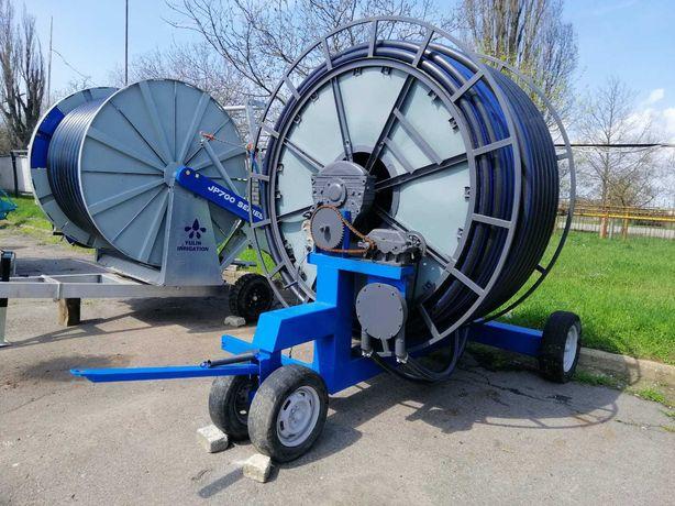 Дождевальная машина барабанная, ороситель Фрегат ферма полив консоль