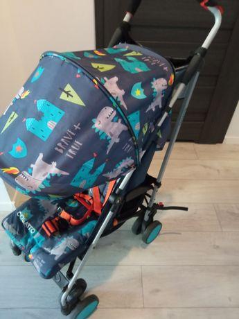 Cosatto supa dragon kingdom wózek spacerowy spacerówka parasolka lekki