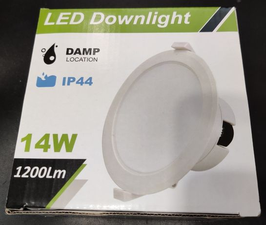 LED Tecto 14W IP44 1200Lm (Pack 6 Unidades)