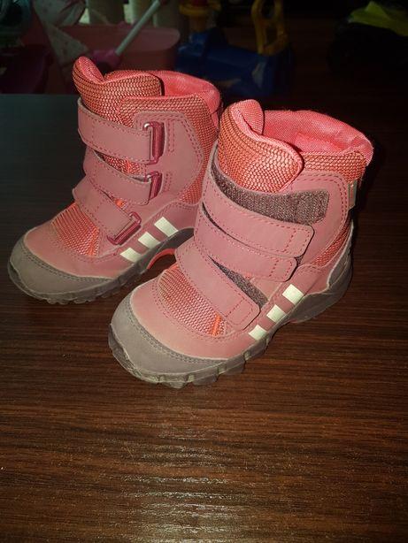 Śniegowce dziecięce Adidas rozmiar 24
