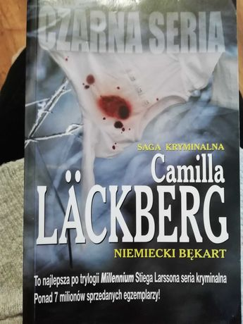 "Książka Camilla Lackberg ""Niemiecki bękart"""