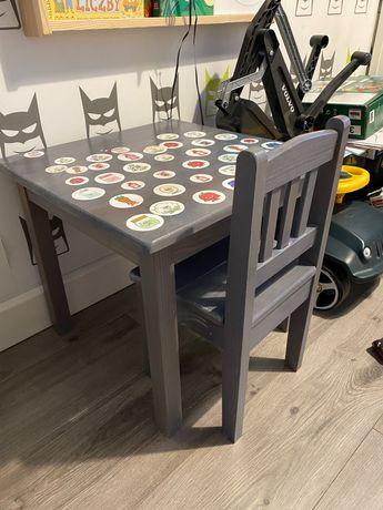 Stolik z krzeselkiem dla dziecka