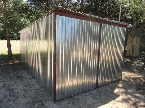 Garaż 3x5 ocynk blaszany Dostawa Montaż Gratis szybki termin 3-7 dni