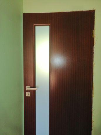 Drzwi Porta z naturalną okleiną.