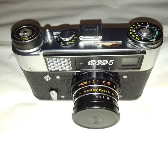 Nowy aparat fotograficzny FED 5