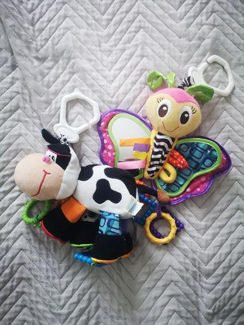 Zabawka wisząca edukacyjndo do wózka, zestaw zabawek wiszących