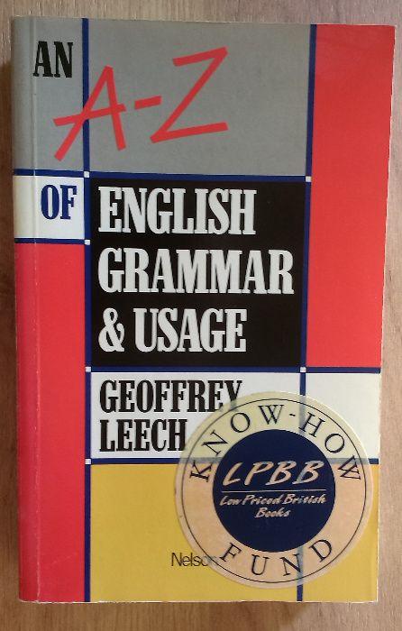 A-Z Gramatyka angielska Geoffrey Leec Ciechocinek - image 1