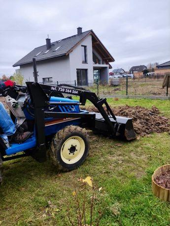 Glebogryzarka separacyjna prace traktorem najtaniej koszenie