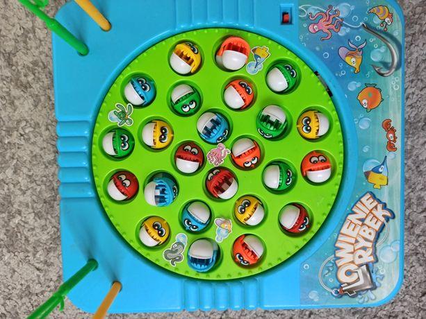 Gra zręcznościowa łowienie rybek