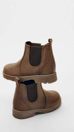 Шкіряні черевички Zara Розпаровка