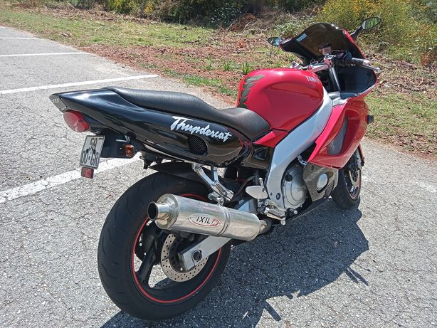 Vendo ou troco por mota estilo virago ,mota Yamaha YZF ThunderCat 600