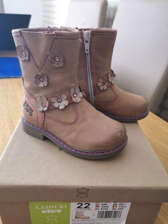 Kozaki buty zimowe Lasocki Kids roz 22