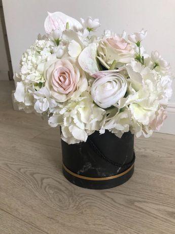 Śliczny Flower Box Marmurkowy