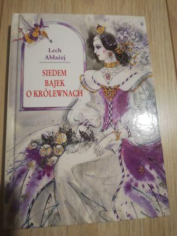 Książka Siedem Bajek o Królewnach, Lech Abłażej