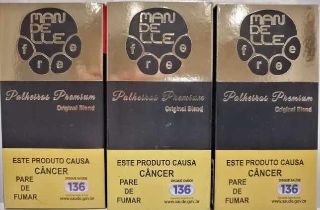 Cigarro de palha artesanal Mandelle Premium