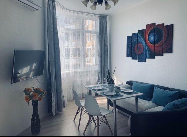 Квартира, новострой, студия+спальня, Аркадия,Французский, море