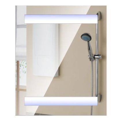 Praktyczna, elegancka szafka do łazienki z wbudowanym oświetleniem LED