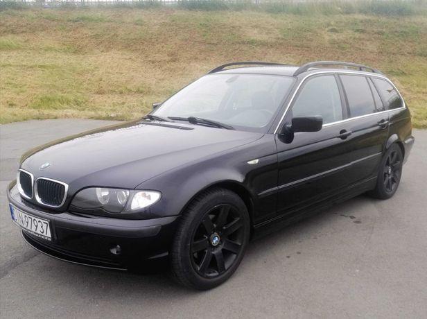 BMW e46 320i kombi benzyna + gaz, 2002r, od osoby prywatnej