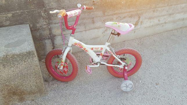 bicicleta p/ menina, 4 aos 6 anos