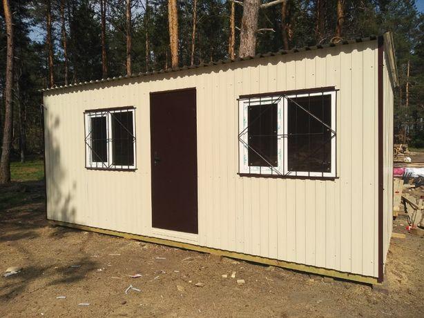 Вагончик бытовка склад деревянный дом от ПРОИЗВОДИТЕЛЯ от 23500