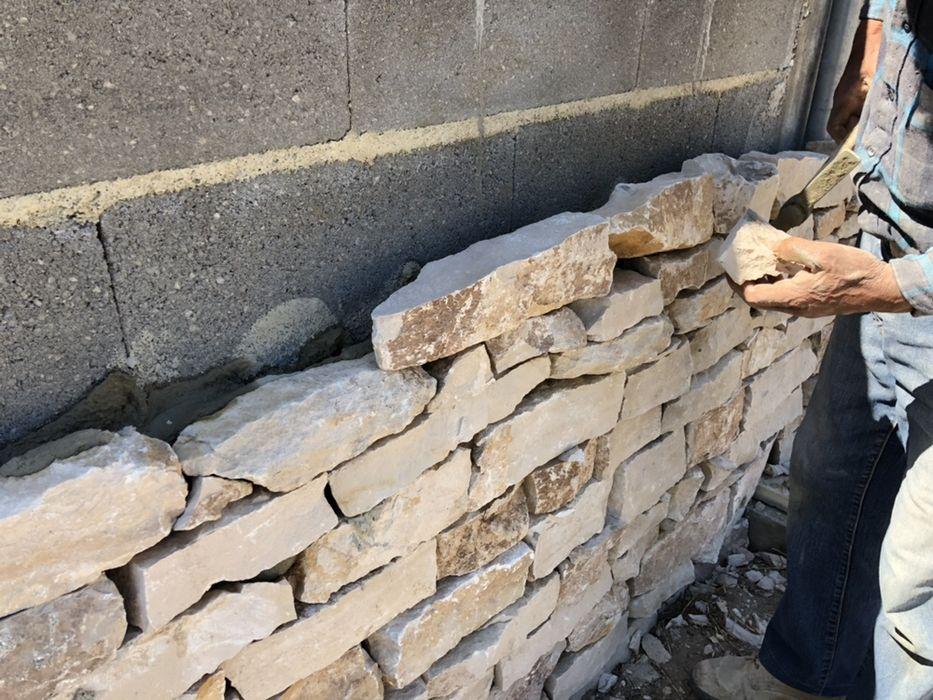 Taco 10 cm pedra rústica