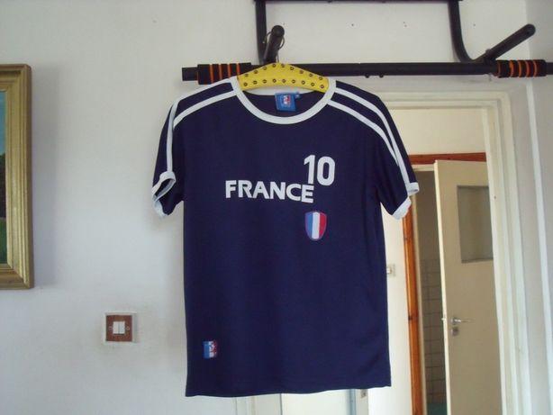 Koszulka sportowa Piłkarska France Licencjonowana Roz M
