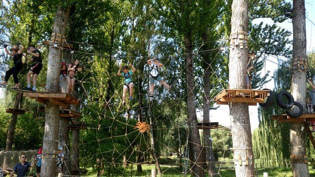 Мотузковый парк, веревочный парк, лазалка, тарзанка, продам бизнес.
