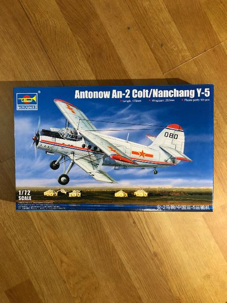 Lotnictwo model do sklejania Trumpeter 01602 AN-2 CHINA Y-5 1/72