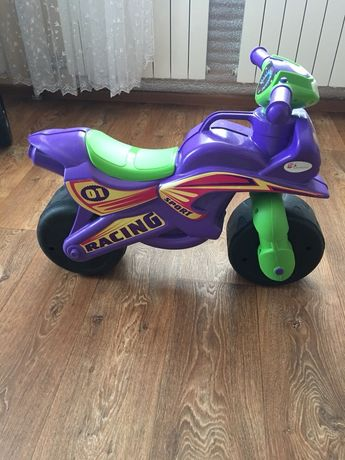 Каталка толокар музыкальный мотоцикл