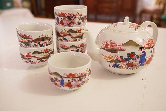 Serviço de Chá Japonês