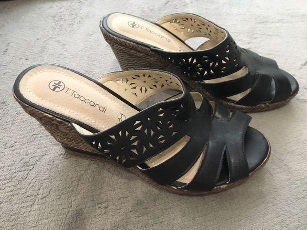 Sandały na koturnie Taccardi roz 36