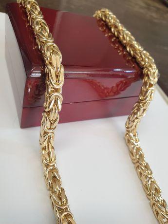 Łańcuszek złoty pr.585 waga 67g dmuchany