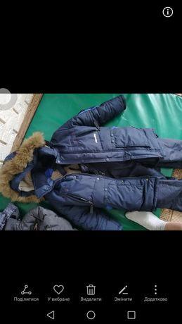 Зимняя, очень тёплая, спина и грудн а на овчине на рост 135,140