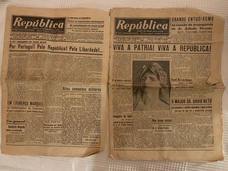 Jornais antigos