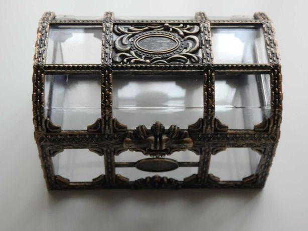Caixa decorativa estilo tesouro - NOVA