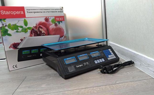 Торгові електронні ваги ACS StarOpera до 40 кг допоможуть все продати