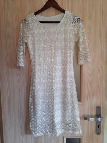Koronkowa sukienka, rozm 38