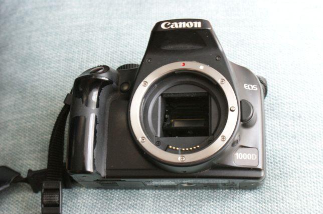Aparat fotograficzny Canon 1000D / body /