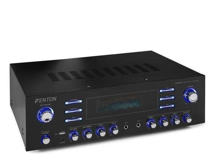 Wzmacniacz 510W HQ 5-kanałowy USB BT PILOT