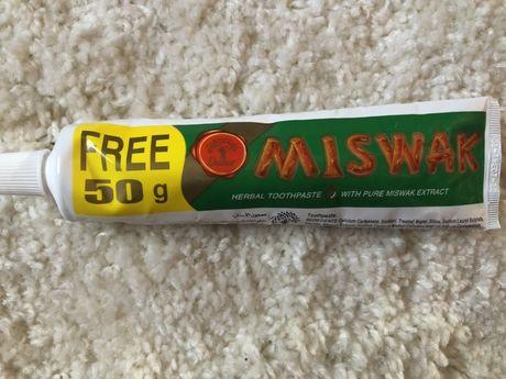 Зубна паста Мішвак (Miswak, Dabur), 170 гр