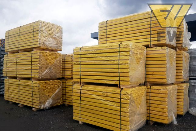 Dźwigary drewniane H20 290 Nieokuty Dźwigar Szalunki Doki Legary