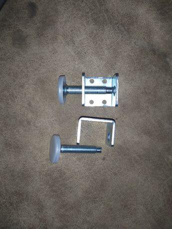 Мебельная ножка М10 мм с П-образным креплением