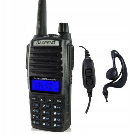 Skaner Policyjny Radiotelefon Baofeng UV-82 HT 5W Odblokowane!Nasłuch
