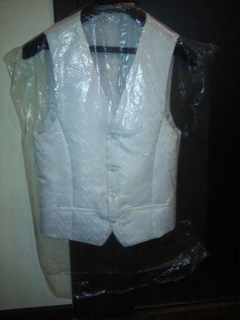 Kamizelka Ślubna plus koszula