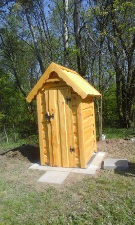 Toaleta drewniana, ogrodowa- GÓRAL