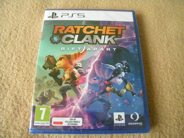Ratchet and clank rift apart PS5 nowa zafoliowana WARTO !!