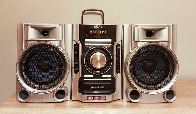 Wieża Hi-Fi Sony MHC-EC55 | 2 x 65W | 3 CD | AUX | pilot RM-SC50