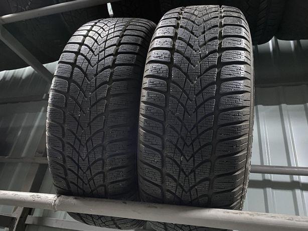 зима 215\60\R16 7.8mm Dunlop SP Winter Sport 4D 2шт шины шини